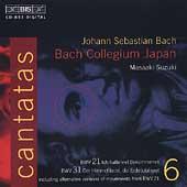 Bach: Cantatas Vol 6 / Suzuki, Bach Collegium Japan