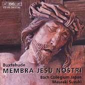Buxtehude: Membra Jesu nostri / Masaaki Suzuki, et al