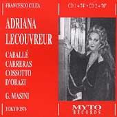 Cilea: Adriana Lecouvreur / Masini, Caballe, Carreras, et al
